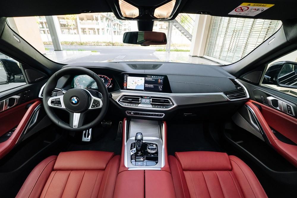 Nội thất xe BMW X6 xDrive40i M Sport 2020