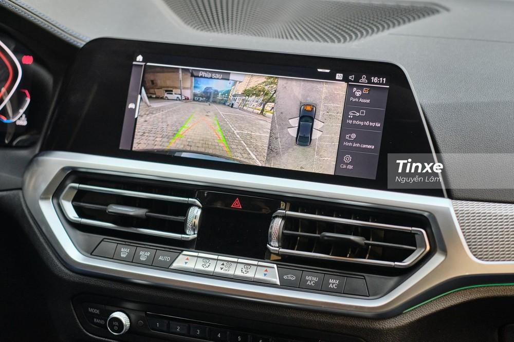 Trang bị an toàn của xe cũng được bổ sung thêm camera 360 độ