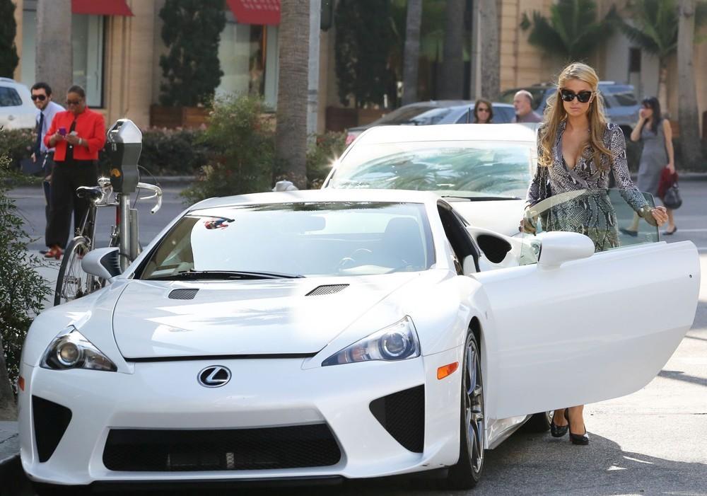 Lexus LFA of Paris Hilton