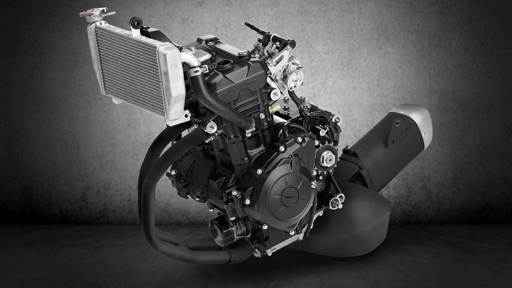 Động cơ xylanh đôi dung tích 321 cc trên Yamaha R3 2020
