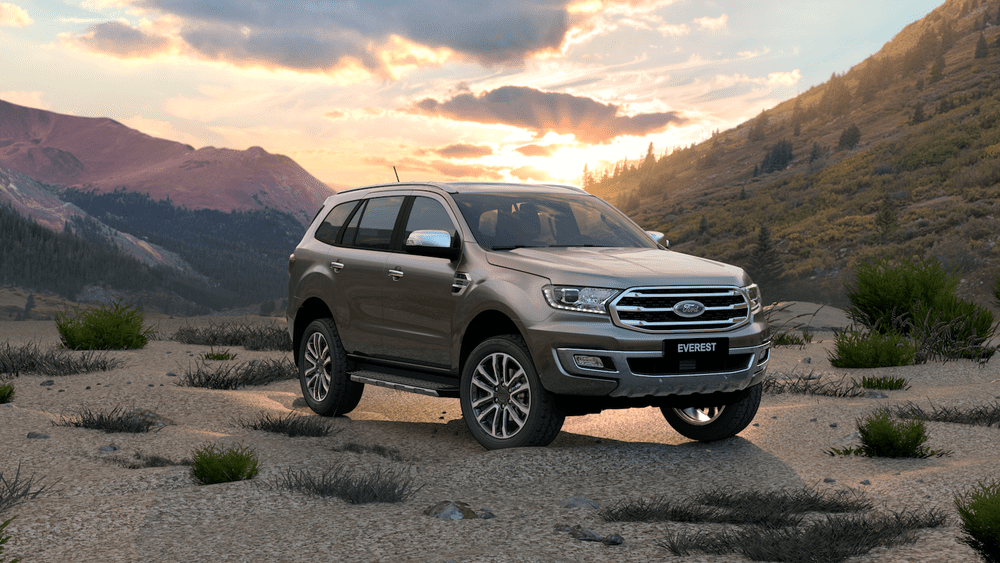 Ford Everest is being discounted to 112 million at the end of April 2020