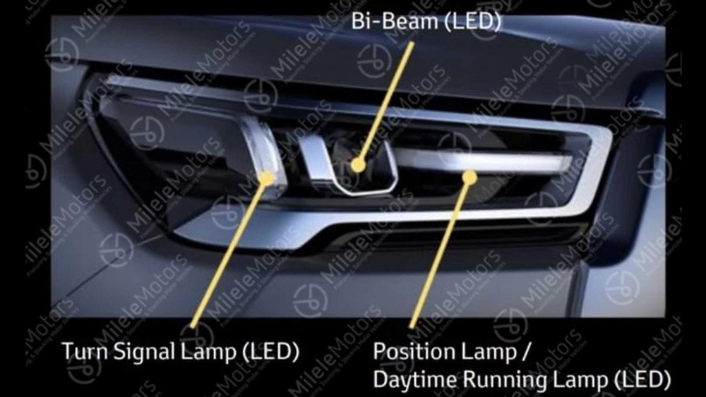 Full LED light of Toyota Hilux 2021