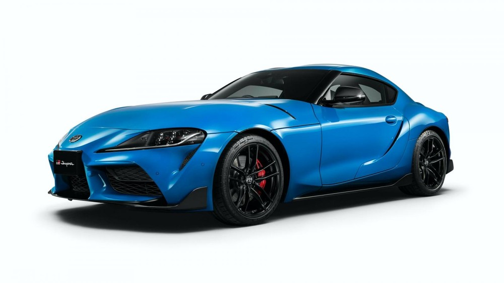Toyota GR Supra 2021 has a 14% more powerful engine.