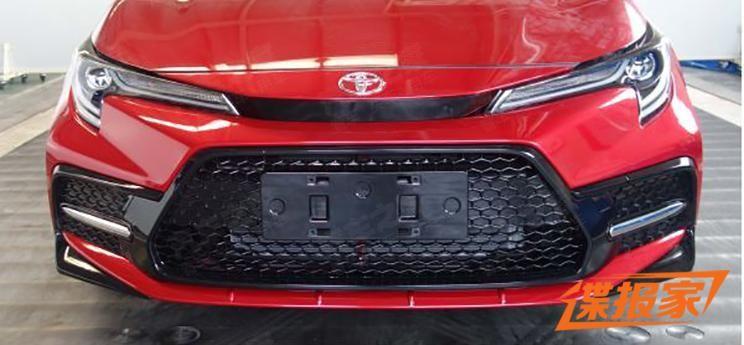 Toyota Levin 2020 bị rò rỉ hình ảnh