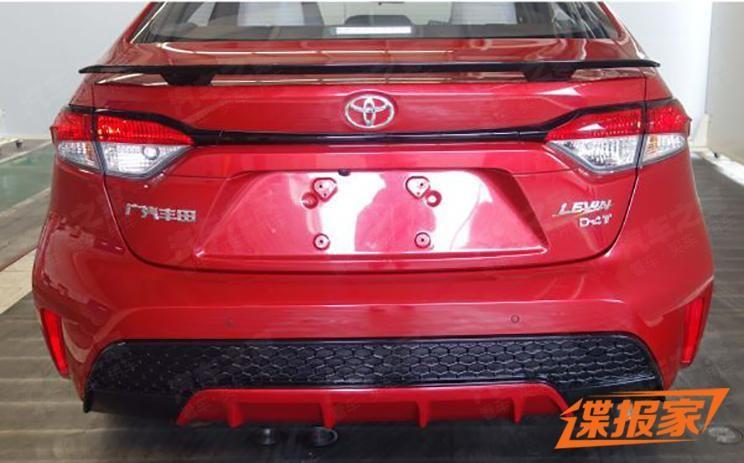 Toyota Levin 2020 nhìn từ phía sau