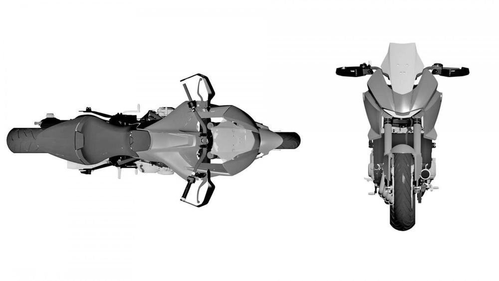 Thiết kế xe Honda ADV 650 trang bị động cơ 4 xylanh