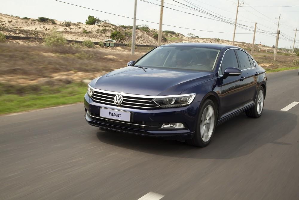 Volkswagen Passat là xe hạng D sang trọng bậc nhất phân khúc
