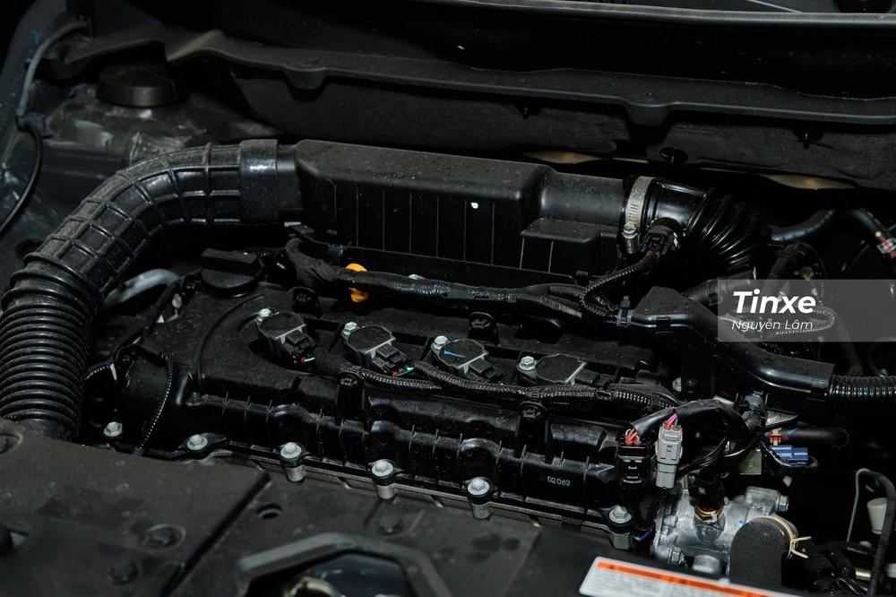Động cơ của Suzuki XL7 2020 tương tự như Suzuki Ertiga, đều là máy xăng 1.5L