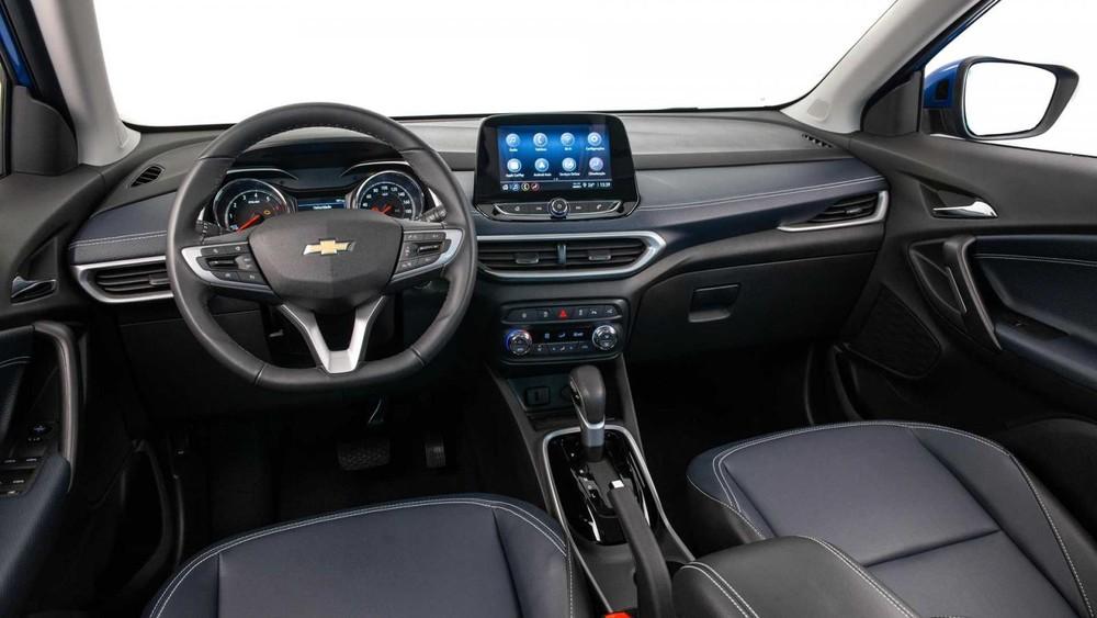 Nội thất bên trong Chevrolet Tracker thế hệ mới tại thị trường Trung Quốc