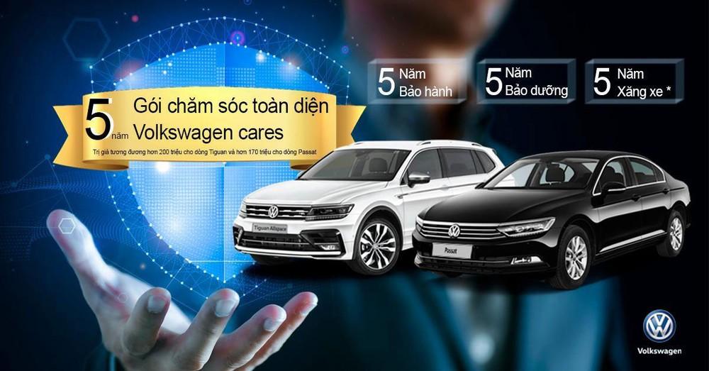 Chương trình tặng Gói Chăm sóc toàn diện Volkswagen cares