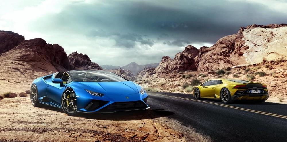 Lamborghini Huracan EVO RWD Spyder chính thức trình làng