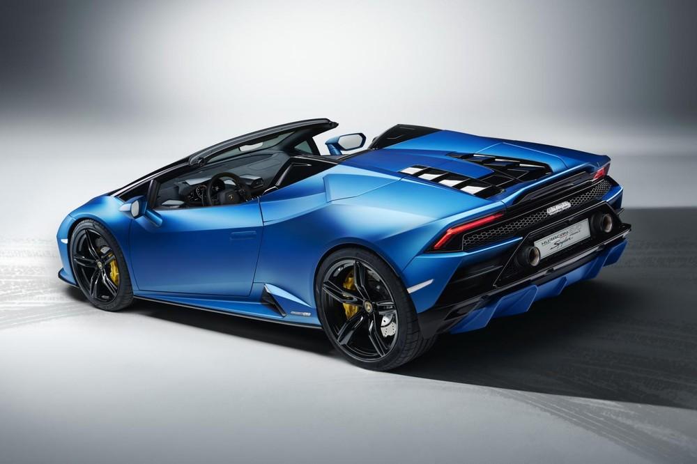Lamborghini Huracan EVO RWD Spyder rẻ hơn phiên bản AWD