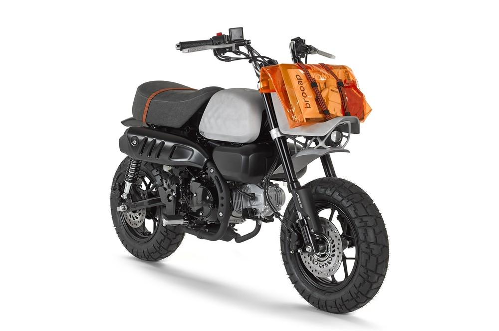 Bản hoàn thiện của Honda Monkey 125 trị giá 30.000 USD