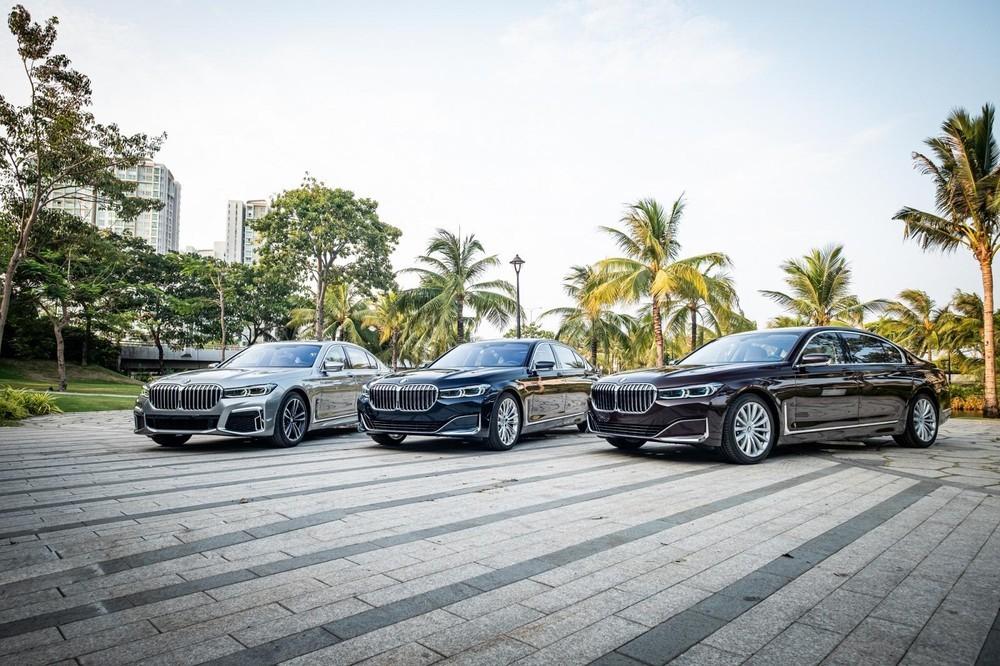BMW 7 Series 2020 mới ra mắt thị trường Việt