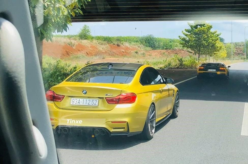 BMW M4 có công suất 431 mã lực