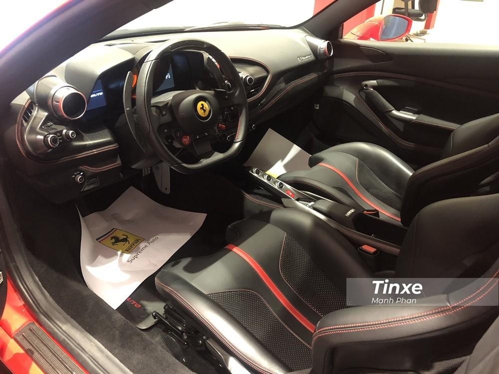 Nội thất siêu xe Ferrari F8 Tributo
