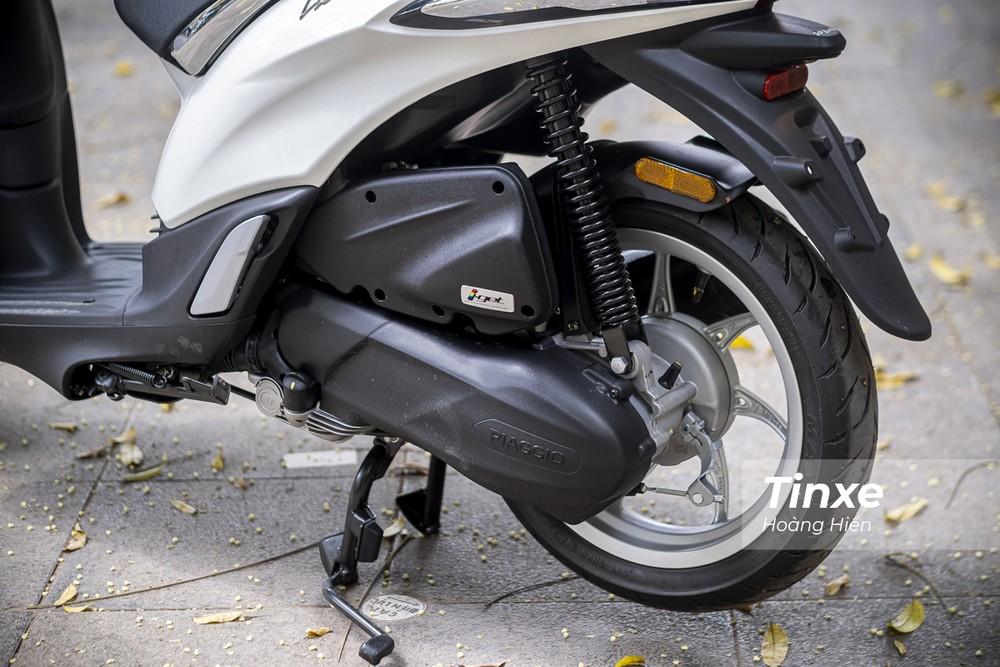 Động cơ iGet 50cc của Piaggio Liberty 50cc cho công suất nhỏ, chỉ phù hợp đi trong đô thị.