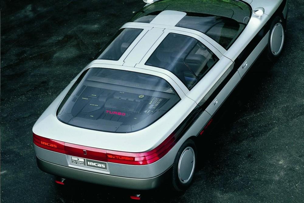 Oldsmobile Incas nhìn từ phía trên