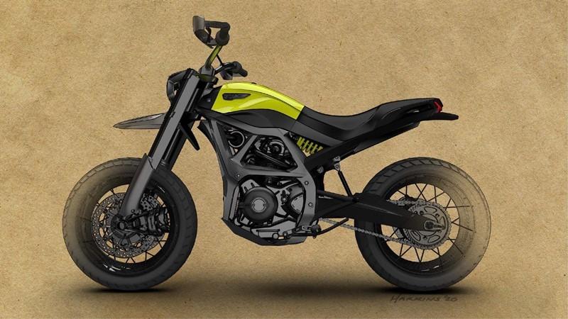 Concept Ducati Scrambler