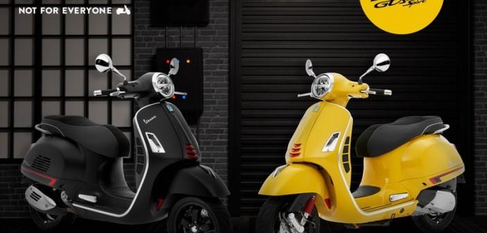 Bộ màu mới trên Vespa GTS Super Sport 300 tại Thái Lan