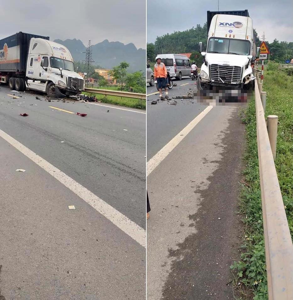 Vụ tai nạn liên hoàn khiến 1 nam sinh tử vong tại chỗ