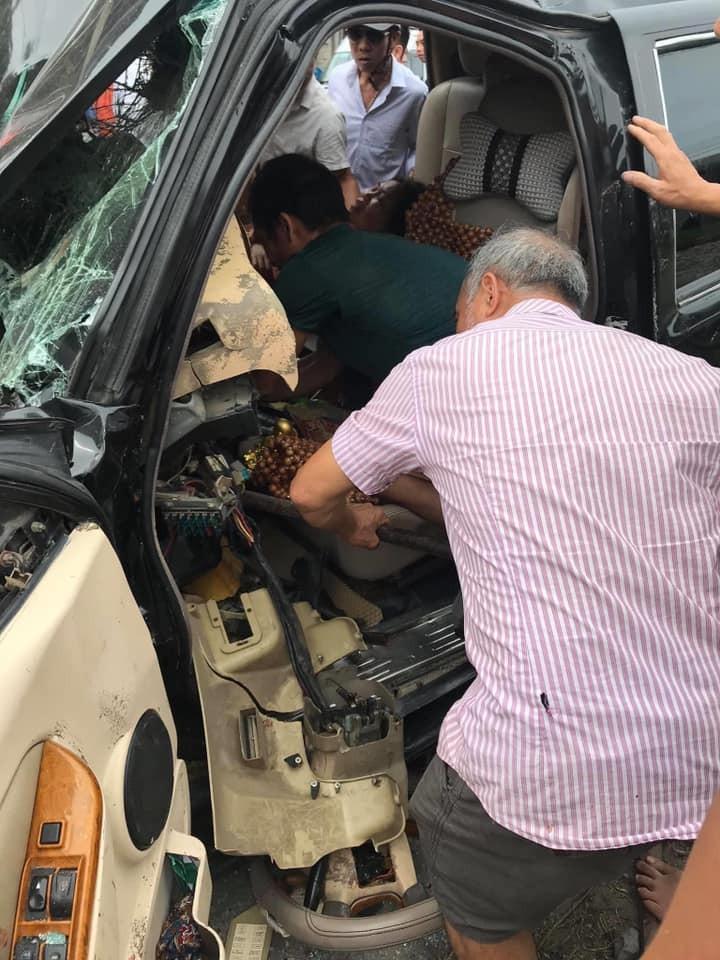 Vụ tai nạn khiến 3 người phải nhập viện