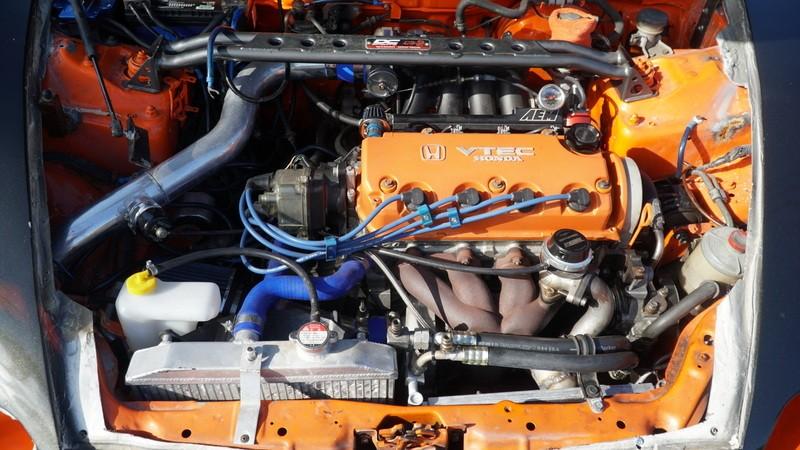 Khối động cơ dưới nắp capô vẫn là của Honda