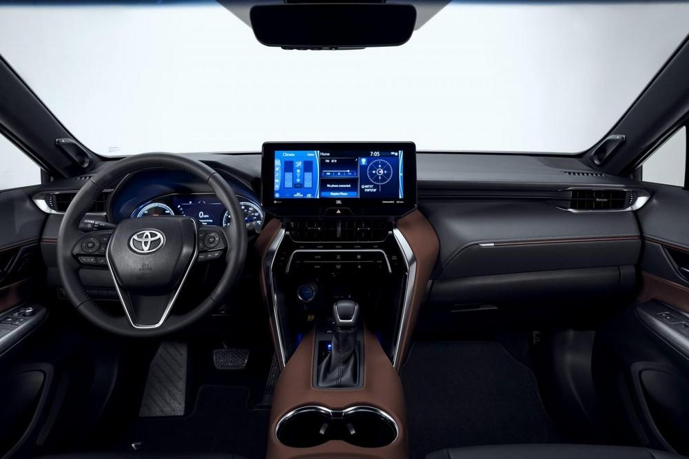 Nội thất bên trong Toyota Venza 2021 cũng giống với Harrier 2020
