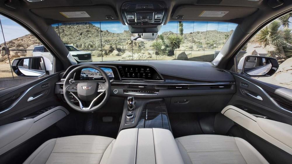 Nội thất sang trọng và công nghệ cao của Cadillac Escalade 2021