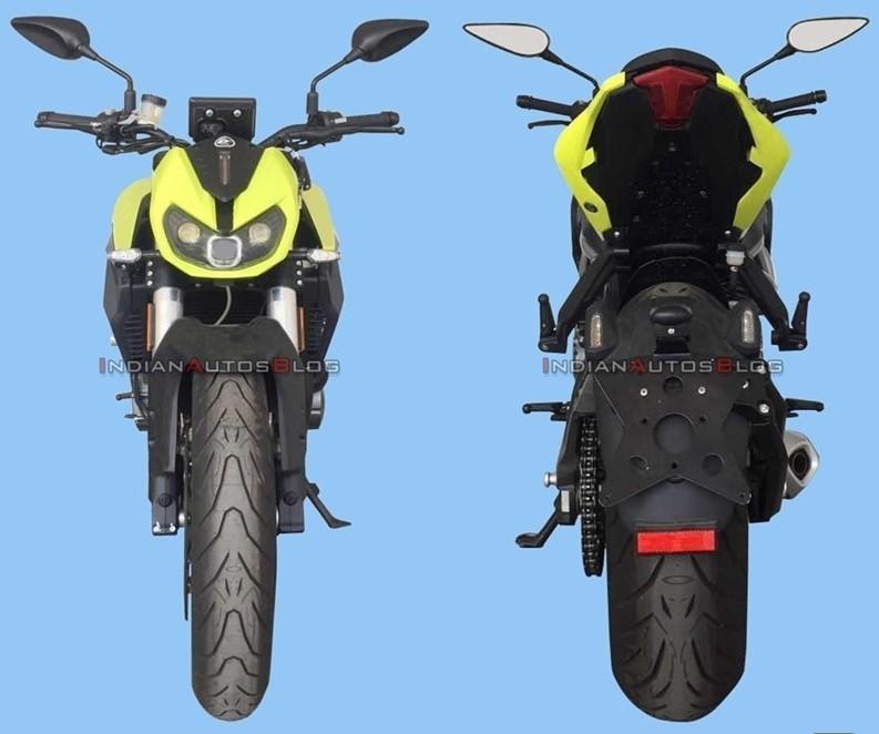 Hình ảnh thiết kế Benelli TNT600 thế hệ mới