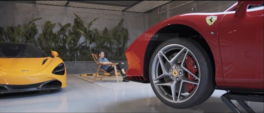 Cường Đô-la và cặp siêu xe McLaren 720S cùng Ferrari F8 Tributo