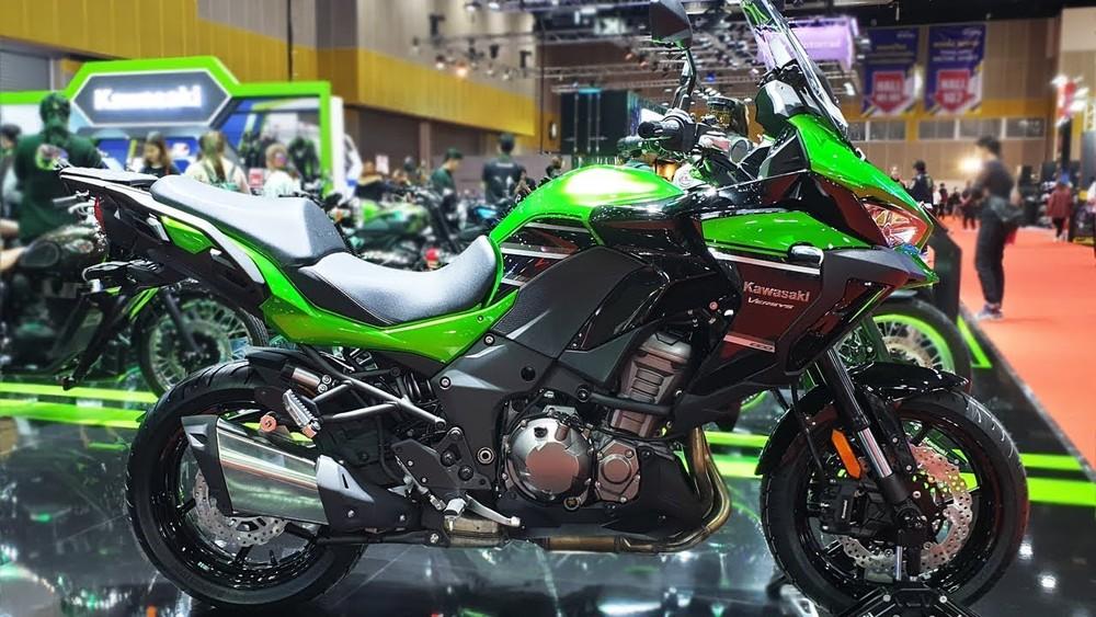 Kawasaki Versys 1000 ra mắt phiên bản 2020