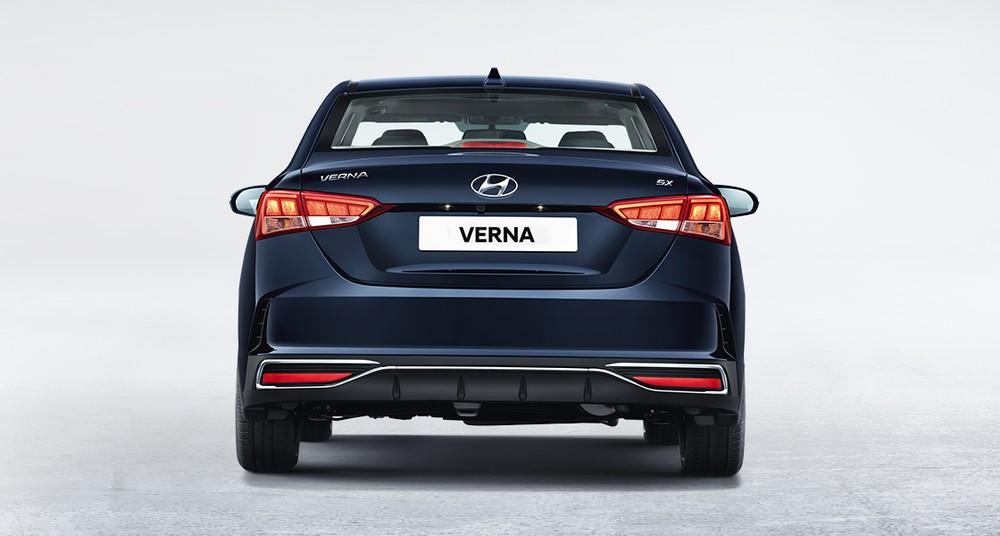 Thiết kế đằng sau của Hyundai Accent 2020 tại Ấn Độ