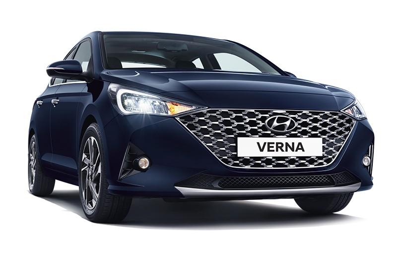 Cận cảnh thiết kế đầu xe của Hyundai Accent 2020 tại Ấn Độ