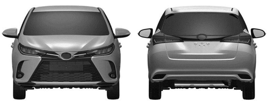 Hình ảnh rò rỉ của Toyota Yaris 2021