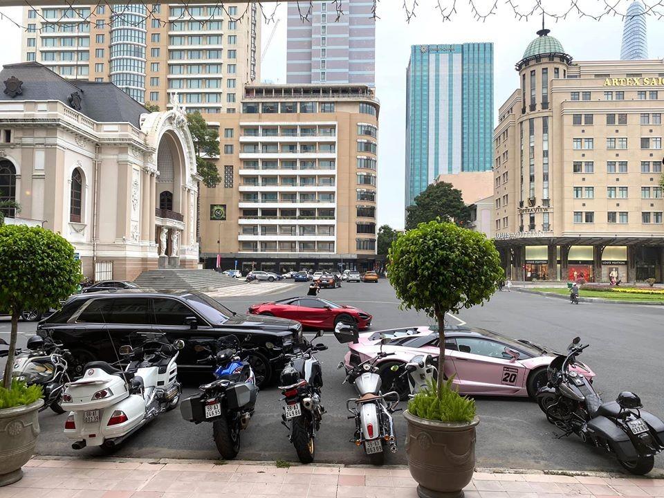 Dàn siêu xe của đoàn Car Passion họp mặt tại Sài thành vào ngày hôm nay