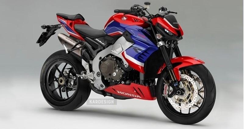 Honda CB1000RR-R Concept do Kardesign Koncepts thực hiện