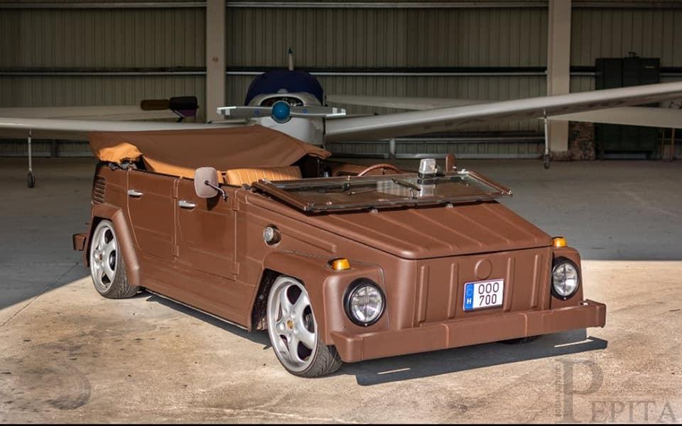 Chiếc Volkswagen Thing bọc da ngoại thất kỳ lạ của Pepita