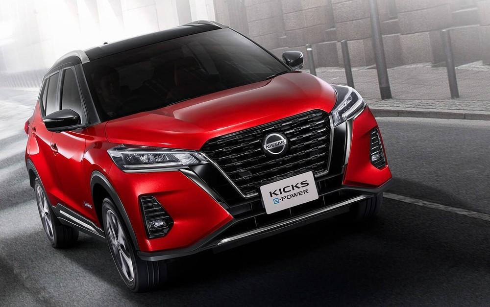 Cận cảnh thiết kế đầu xe của Nissan Kicks 2020