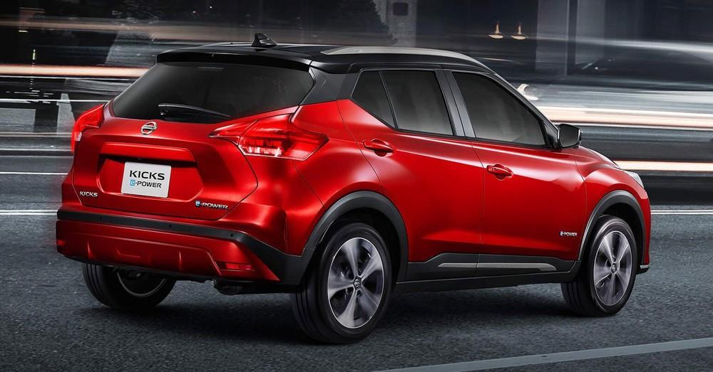 Nissan Kicks 2020 được trang bị hệ truyền động e-Power mới
