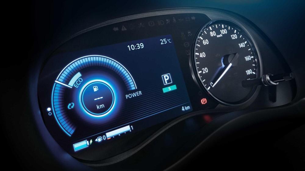 Bảng đồng hồ kỹ thuật số của Nissan Kicks 2020