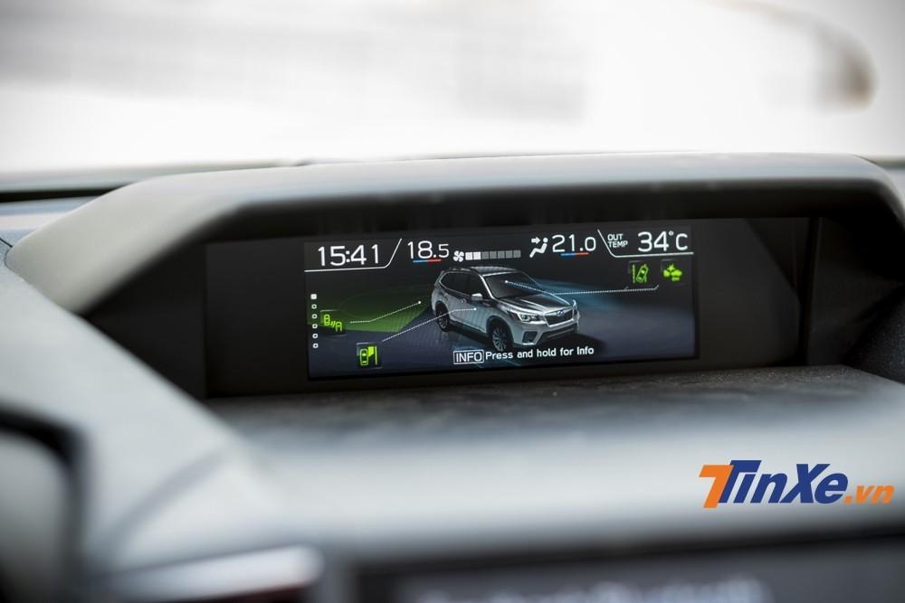 Với gói an toàn EyeSight, Subaru Forester GT Edition có các tính năng an toàn hàng đầu phân khúc hiện nay.
