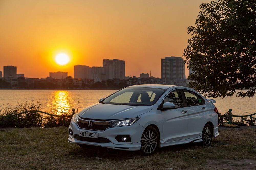 So với kỳ trước, doanh số mảng ô tô của Honda Việt Nam ở năm tài chính 2020 có giảm nhẹ