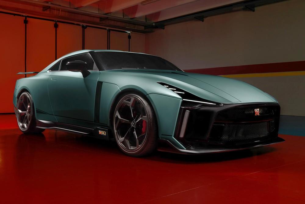 Nissan GT-R 50 là một sản phẩm mang tính chất kỷ niệm thương hiệu và được thiết kế bởi Italdesign