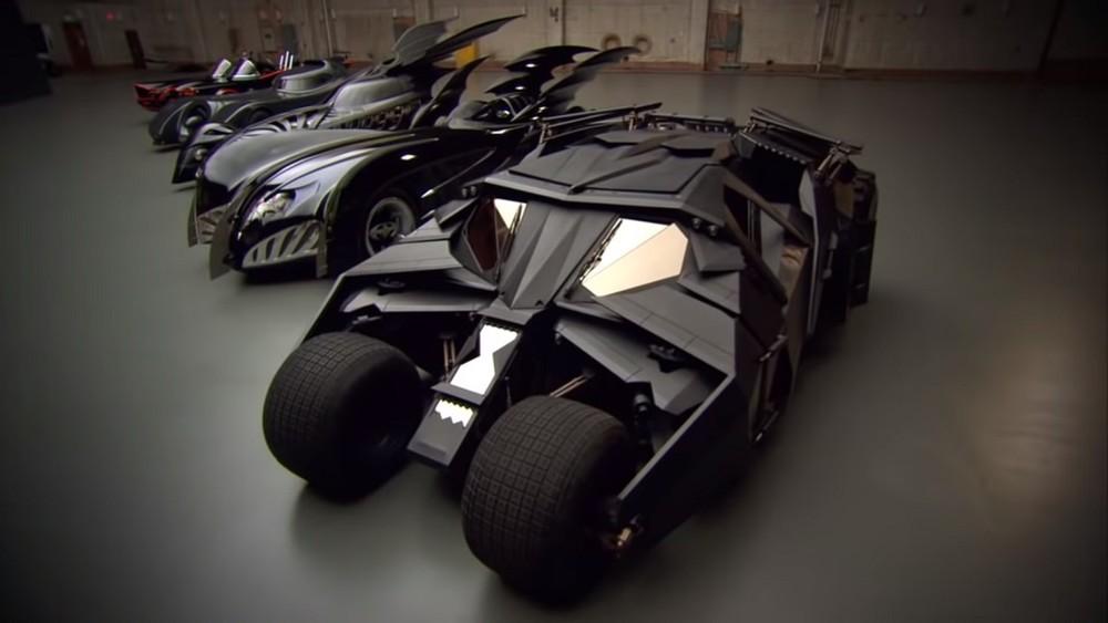 Một số thế hệ Batmobile tiêu biểu trên màn ảnhtính tới năm 2012