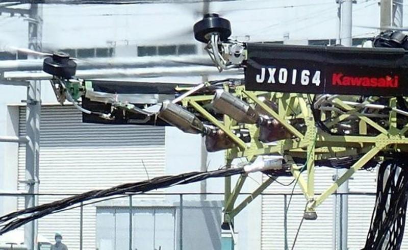 Drone có khả năng nâng một vật 200kg