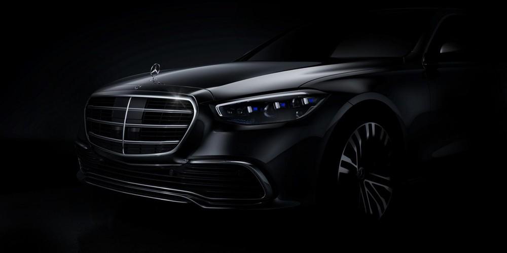 Hình ảnh hé lộ thiết kế chính thức của Mercedes-Benz S-Class 2021
