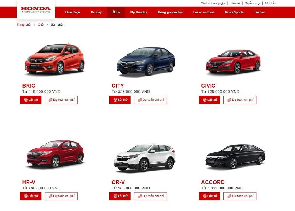 Danh mục sản phẩm của Honda Việt Nam giờ đây đã không còn cái tên Honda Jazz