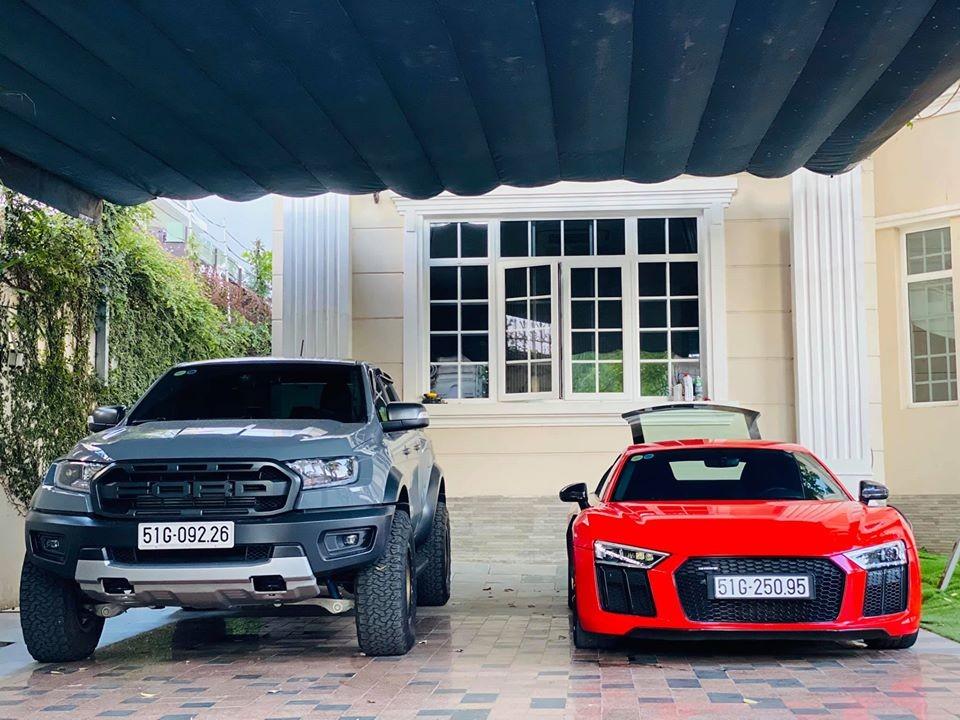 Hiện chiếc Audi R8 V10 Plus từng của Đông Nhi đã được một chủ xưởng độ xe khá nổi tiếng tại Việt Nam mua lại