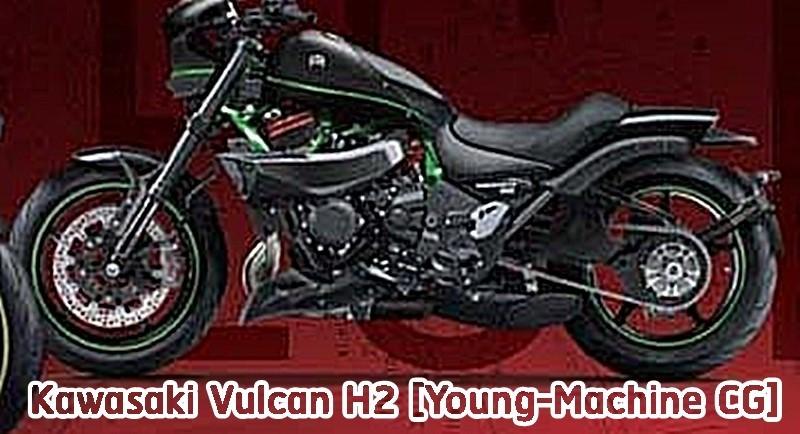 Dự đoán Cruiser H2 có thể mang tên Vulcan H2 đến từ Young Machine
